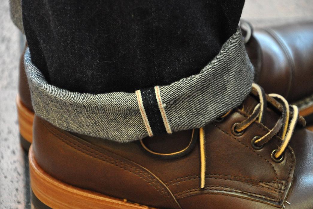 Vanish-Into-Blue-With-Freewheelers-601XX-1951-Jeans-model-slevedge