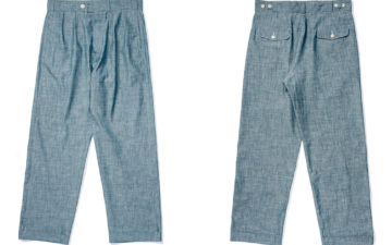 Allevol-Brunel-Chambray-Chino-front-back