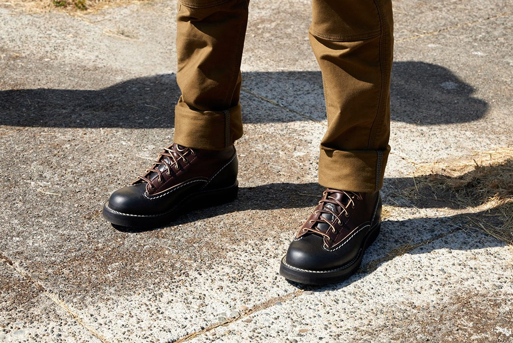 Division-Road-Army-Work-Club-Capsule-Collection-model-black-brown-boots-2
