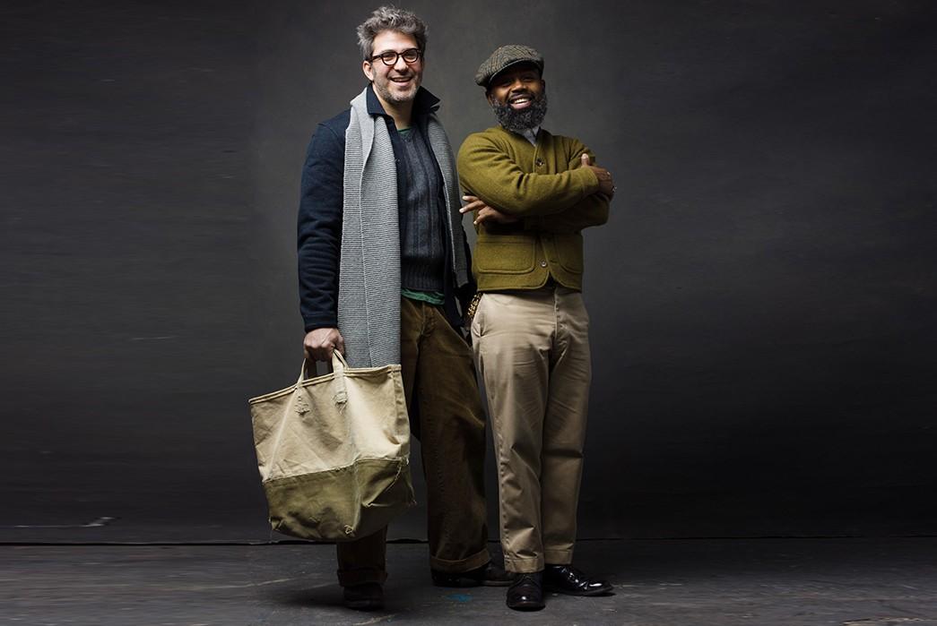 In-Conversation-with-John-Gluckow-John-with-Ouigi-Theodore-of-the-Brooklyn-Circus-(Image-via-John-Midgley)