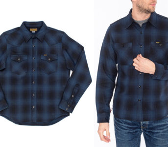 Iron-Heart-Drops-a-Duo-of-Heavyweight-Ombre-Check-Shirts