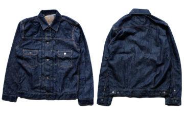 Momotaro-Weaves-a-Silk-Weft-Into-Its-Latest-Type-II-Trucker-Jacket-front-back