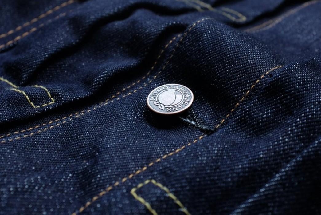 Momotaro-Weaves-a-Silk-Weft-Into-Its-Latest-Type-II-Trucker-Jacket-front-button