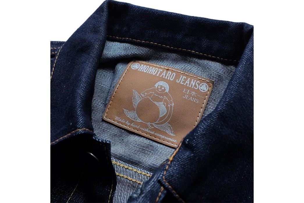 Momotaro-Weaves-a-Silk-Weft-Into-Its-Latest-Type-II-Trucker-Jacket-front-collar