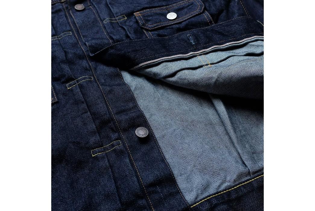 Momotaro-Weaves-a-Silk-Weft-Into-Its-Latest-Type-II-Trucker-Jacket-front-inside