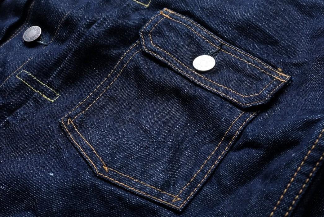 Momotaro-Weaves-a-Silk-Weft-Into-Its-Latest-Type-II-Trucker-Jacket-front-pocket