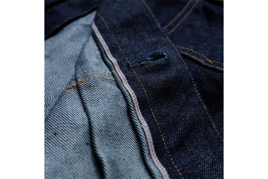 Momotaro-Weaves-a-Silk-Weft-Into-Its-Latest-Type-II-Trucker-Jacket-seams