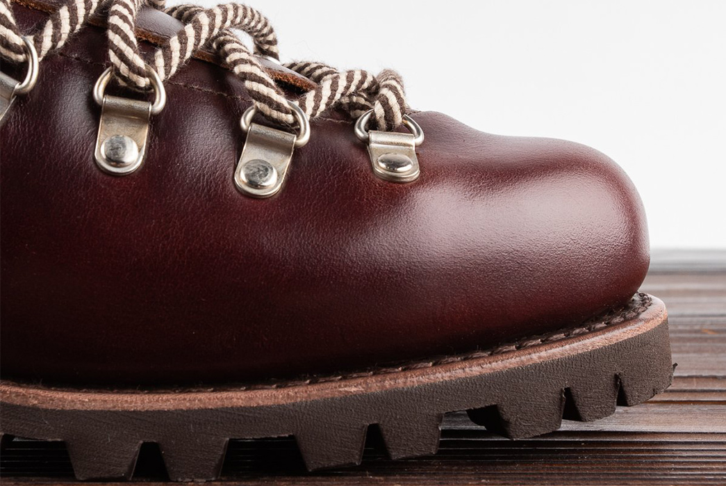 Paraboot-Low-Cuts-a-Heritage-Hiker-Boot-With-Its-Clusaz-Shoe-single-side-detailed