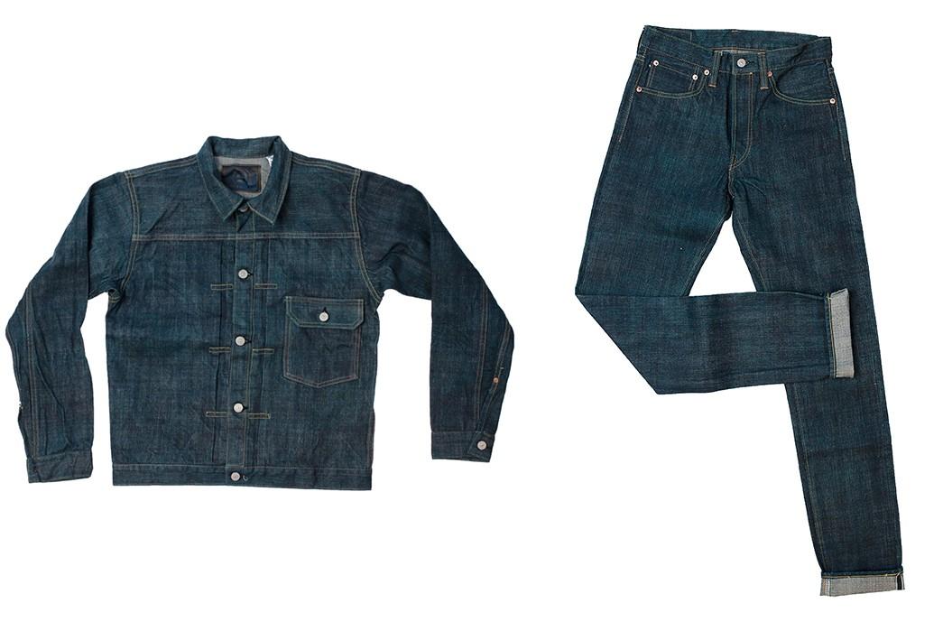 Sugar-Cane-Celebrates-55-Years-With-Its-Limited-Edition-Edo-AI-Denim-jacket-and-pants
