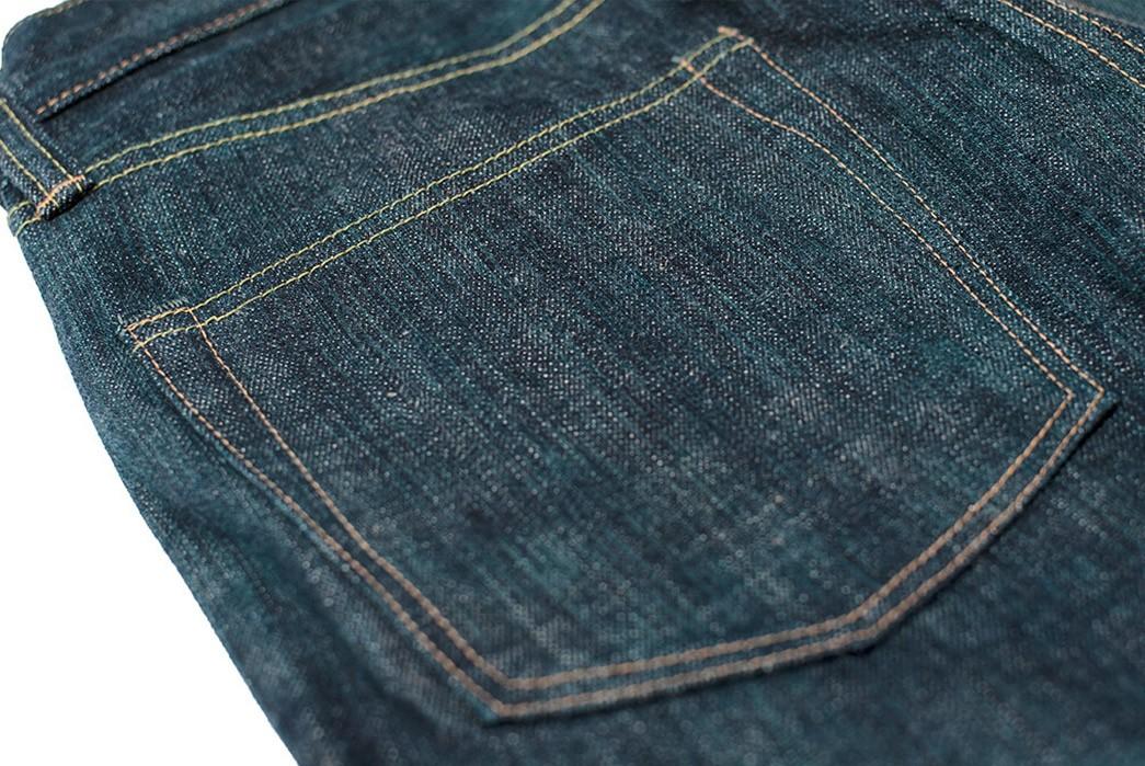 Sugar-Cane-Celebrates-55-Years-With-Its-Limited-Edition-Edo-AI-Denim-pants-back-top-left-pocket