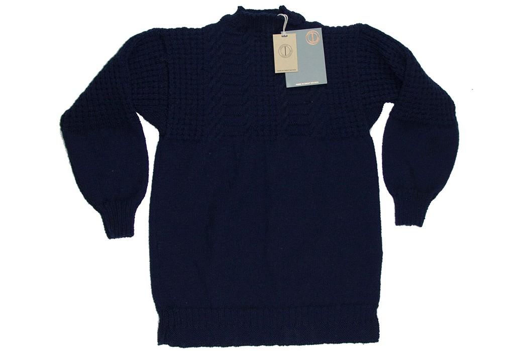 Be-Warm-&-Fancy-In-Dawson-Denim's-Hand-Knit-Gansy-front