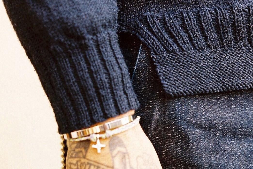 Be-Warm-&-Fancy-In-Dawson-Denim's-Hand-Knit-Gansy-sleeve