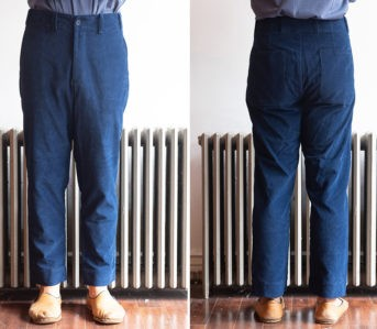 Blluemade-Strikes-Out-With-Japanese-Corduroy-Baseball-Pants-model-front-back