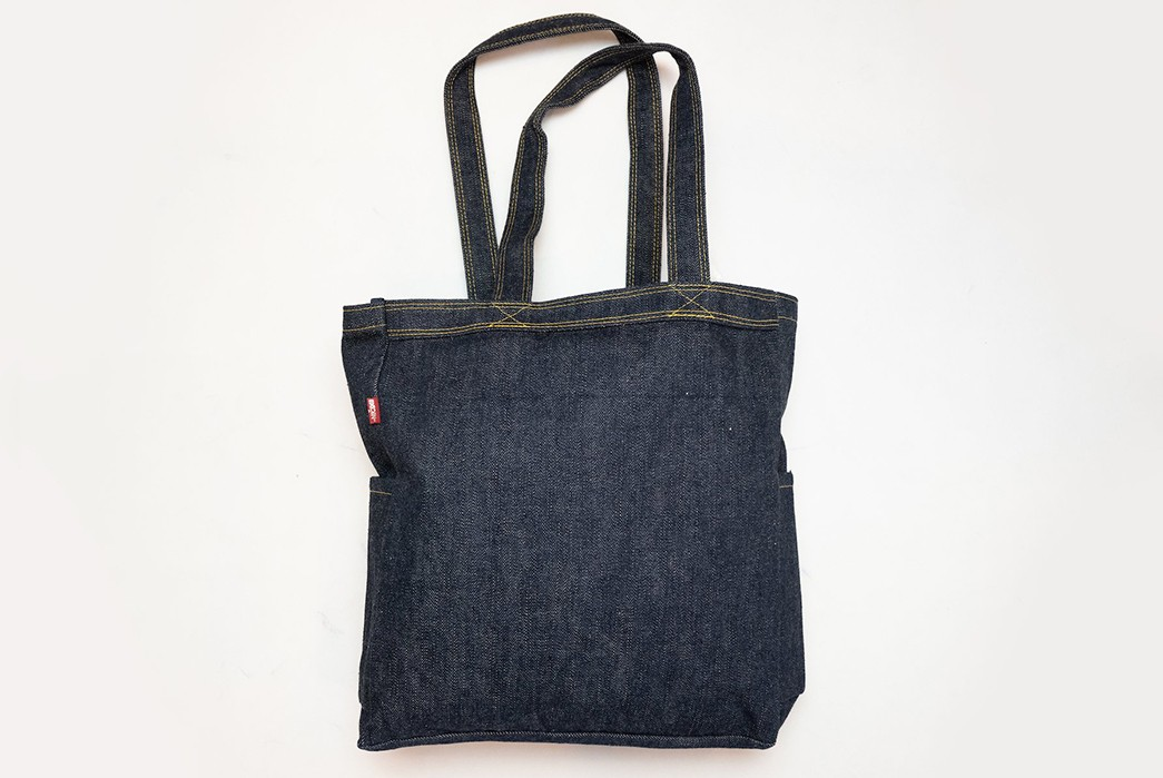 Carry-Your-Fade-Game-With-Samurai's-17-oz.-Denim-Tote-Bag-back