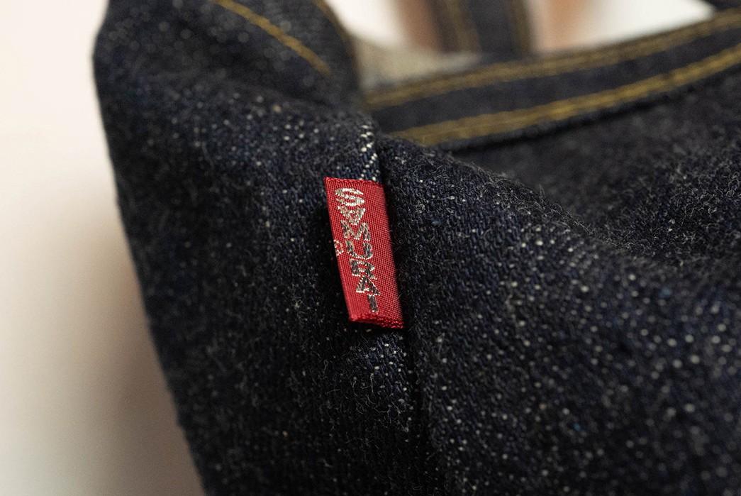 Carry-Your-Fade-Game-With-Samurai's-17-oz.-Denim-Tote-Bag-small-brand