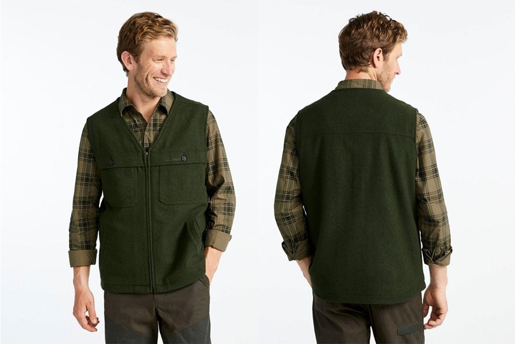 Casual-Wool-Vests---Five-Plus-One-4)-L.L.-Bean-Maine-Guide-Vest