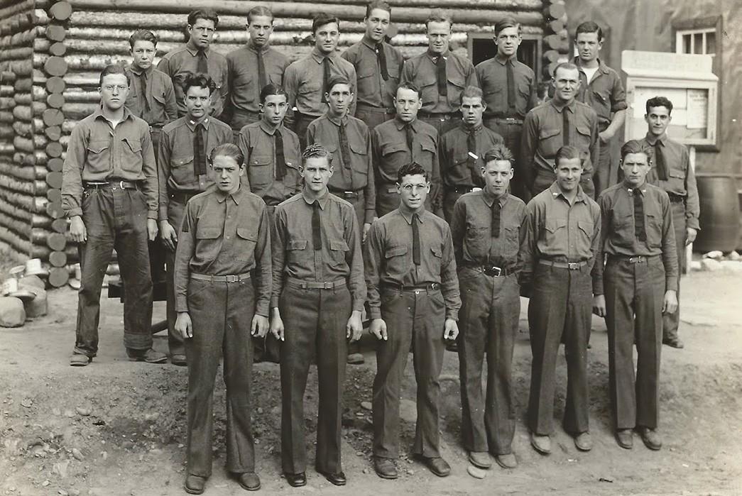 Civilian-Conservation-Corps-Core-Mix-of-dress-uniforms.-Image-via-CCC-Uniforms.