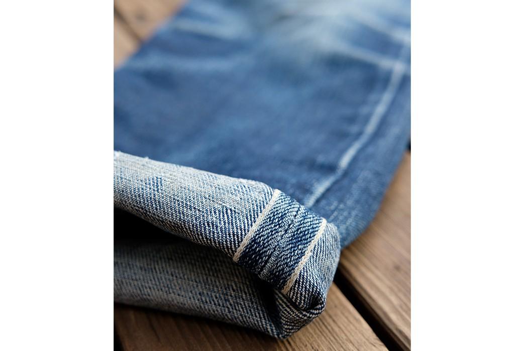 Fade-Friday---SOSO-Classic-Selvedge-22-oz.-(14-Months,-5-Washes,-5-Soaks)-leg-selvedge