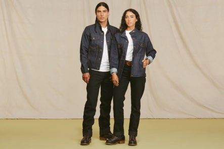 Ginew-Splices-Cafe-Racer-With-OG-Denim-Truckers-For-Its-Selvedge-Rider-Jacket