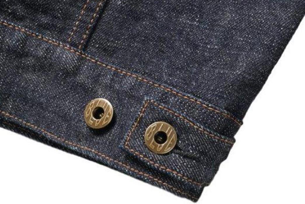 Japan-Blue-Drafts-In-Cote-d'lvoire-For-Its-16.5-Oz.-Type-II-Denim-Jacket-buttons