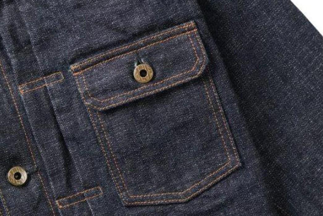Japan-Blue-Drafts-In-Cote-d'lvoire-For-Its-16.5-Oz.-Type-II-Denim-Jacket-front-pocket