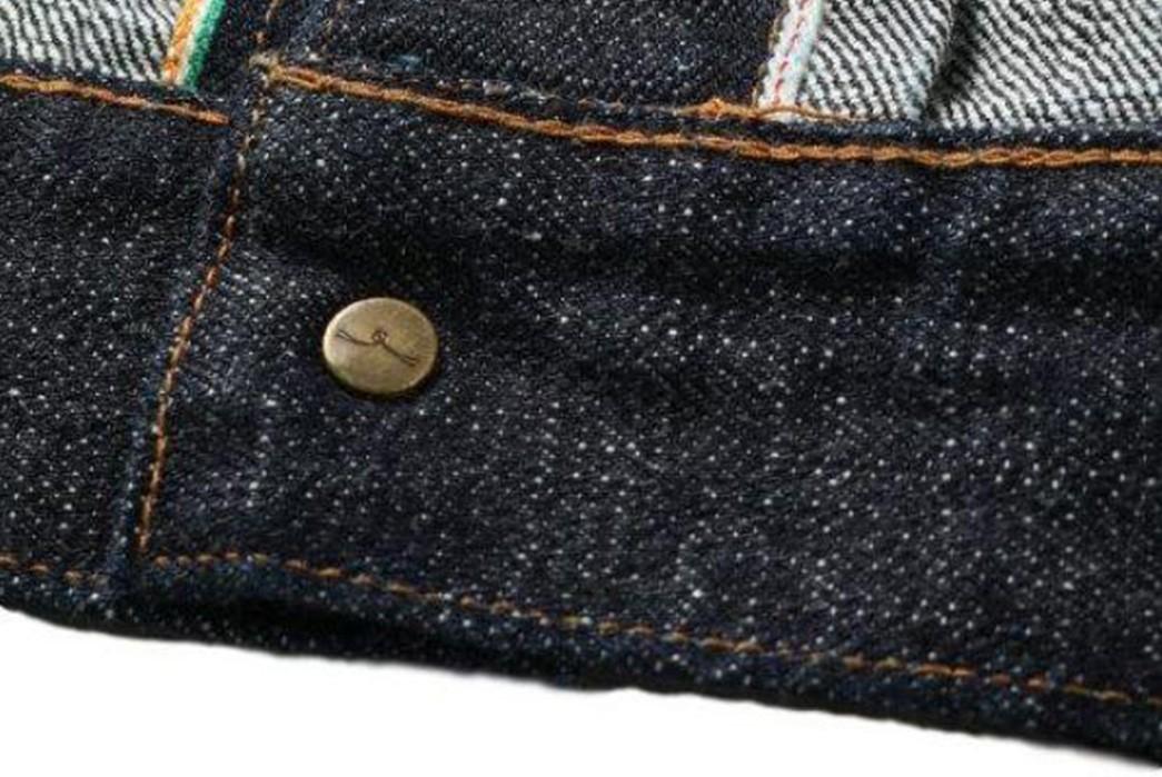 Japan-Blue-Drafts-In-Cote-d'lvoire-For-Its-16.5-Oz.-Type-II-Denim-Jacket-inside-button