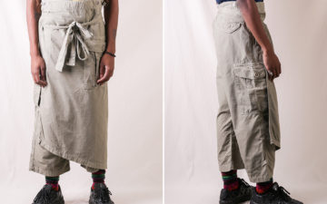 Kapital-Wraps-Up-Charmingly-Questionable-Rip-Stop-Cargos-model-front-and-side