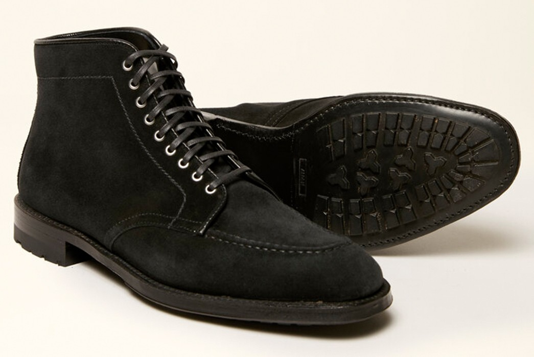 Nappy,-Black-Lace-Up-Boots---Five-Plus-One-5)-Alden-Princewell-U-Tip-in-Black-Suede