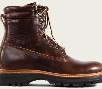 Prepare-For-Frigid-Winter-Hikes-With-Viberg's-Short-Hunter-In-Dark-Dublin-Horween-leather-single-side