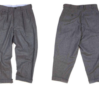 Pull-Up-To-The-Home-Office-In-Beams-Plus--2Pleats-Flannel-Trouser-Grey-front-back