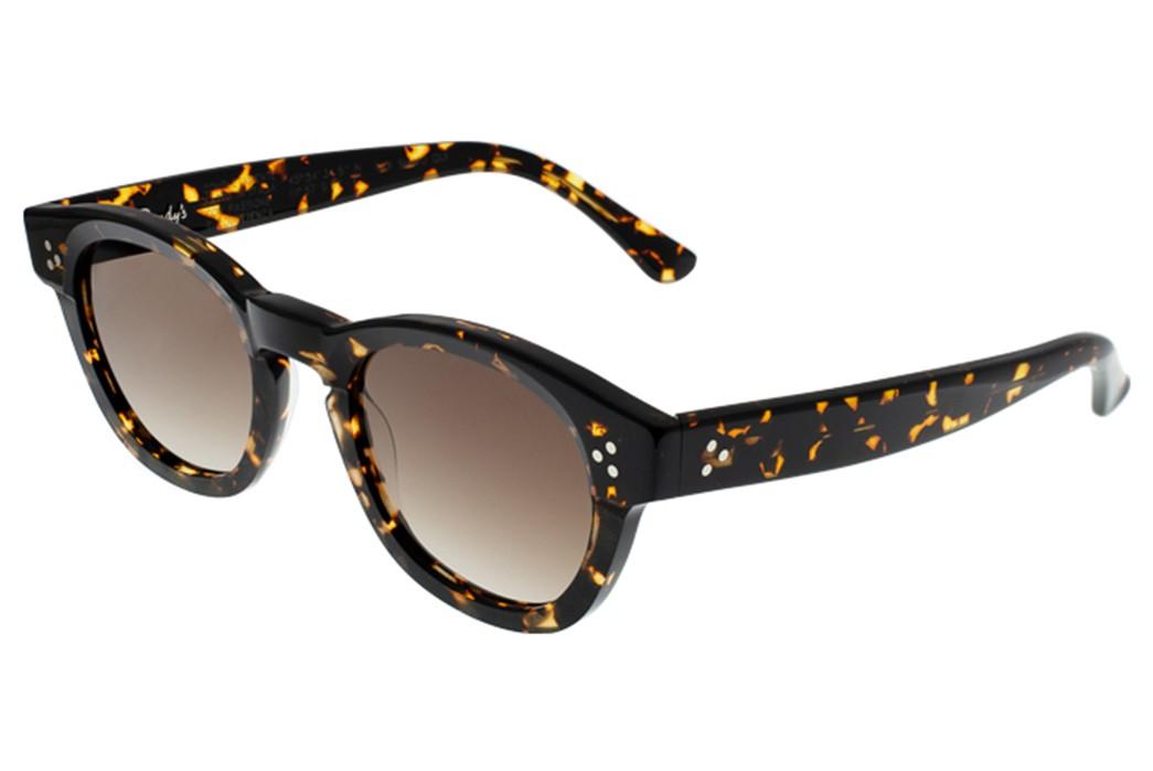 Self-Edge-Welcomes-Italian-Eyewear-Brand,-Dandy's-black-dark-yellow-2