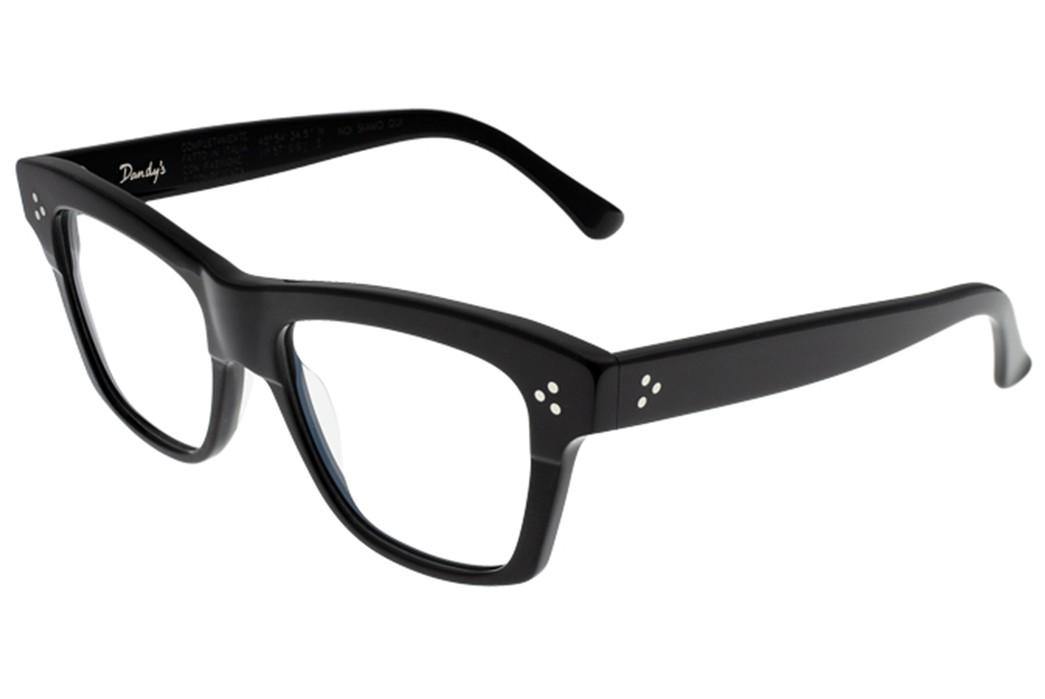 Self-Edge-Welcomes-Italian-Eyewear-Brand,-Dandy's-black