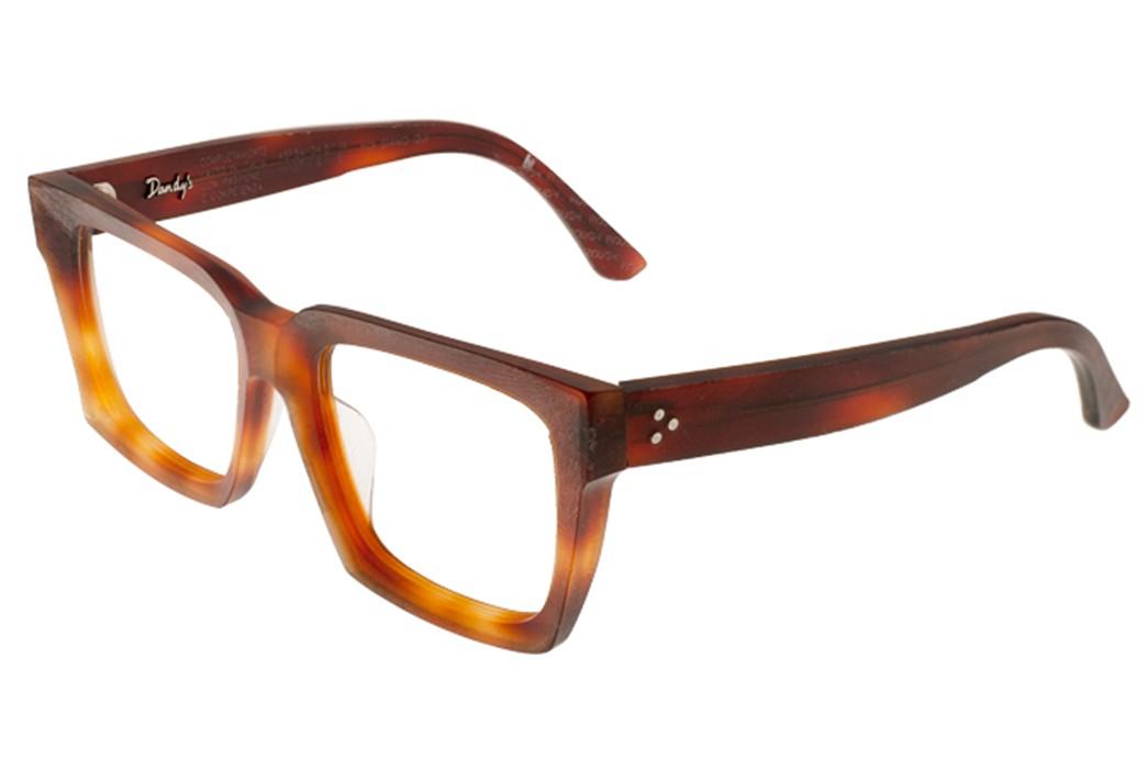 Self-Edge-Welcomes-Italian-Eyewear-Brand,-Dandy's-brown-yellow