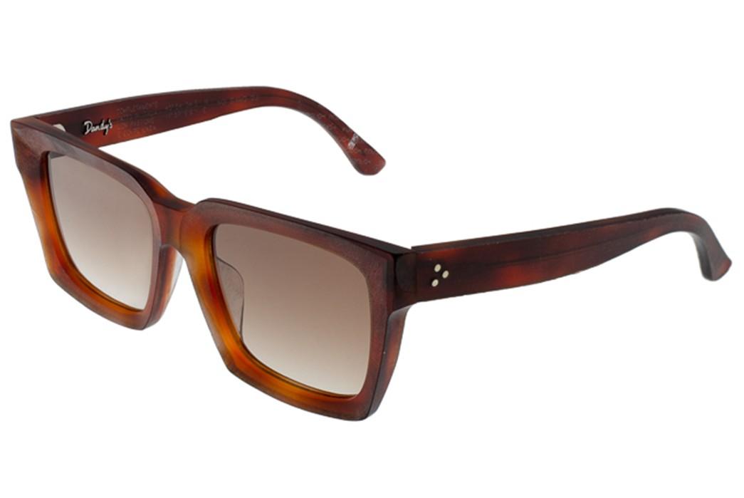 Self-Edge-Welcomes-Italian-Eyewear-Brand,-Dandy's-brown