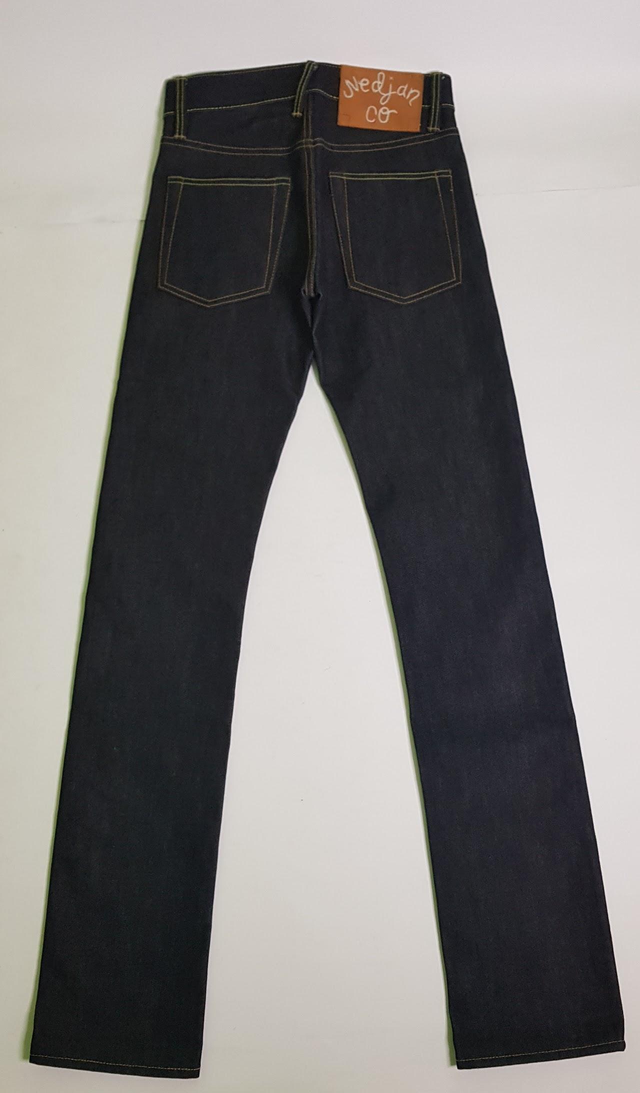 Nedjan Company N-001-XS Raw Denimm Jeans