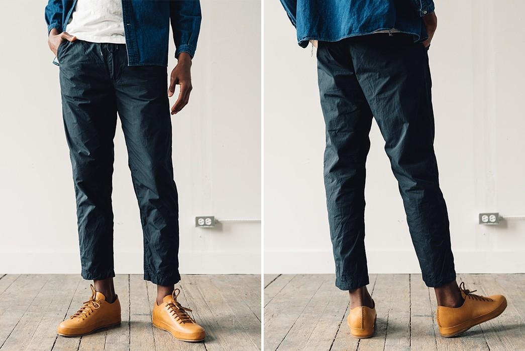 Drawstring-Tech-Pants---Five-Plus-One-5)-OrSlow-Ripstop-New-York-Pants