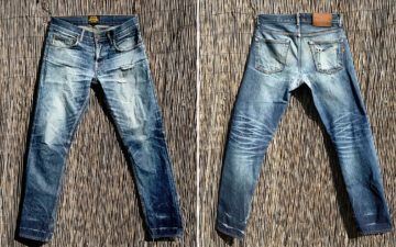 Fade-Friday---Brave-Star-14oz-Unfinished-Cone-Mills-Regular-Taper-(2-Years,-6-Washes,-No-Soaks)-front-back