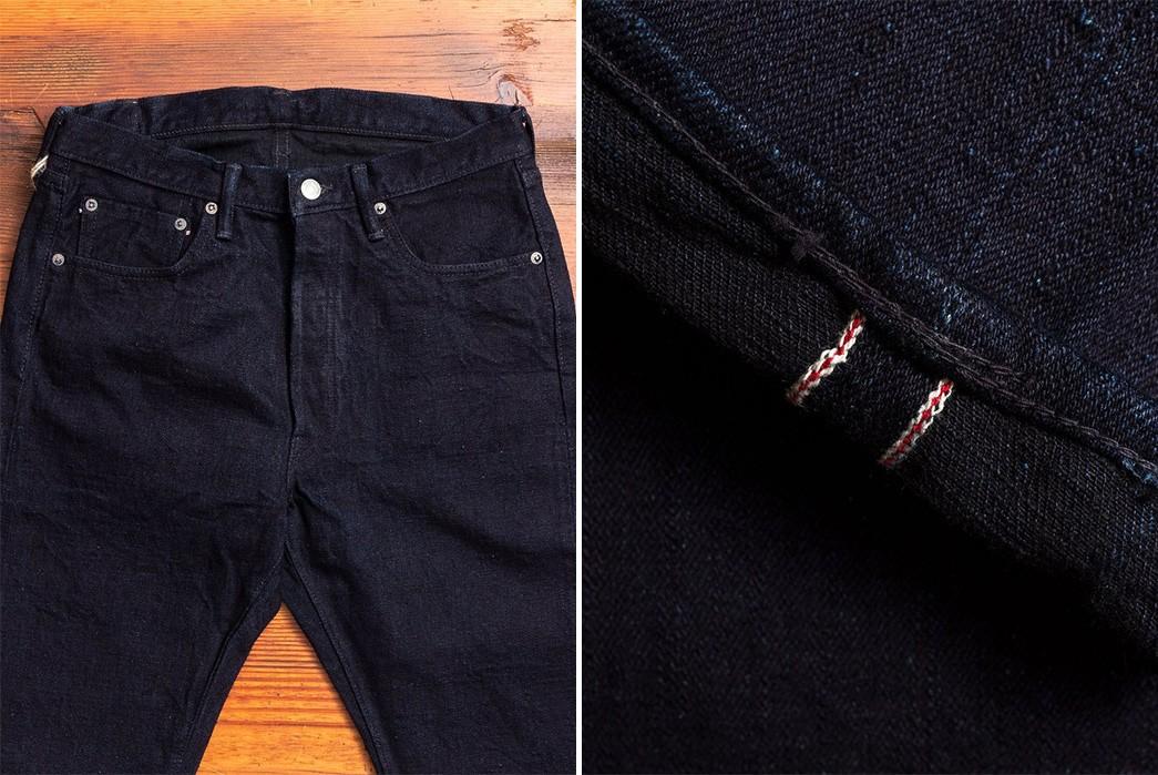 Indigo-Black-Selvedge-Jeans---Five-Plus-One-3)-Fullcount-Super-Rough