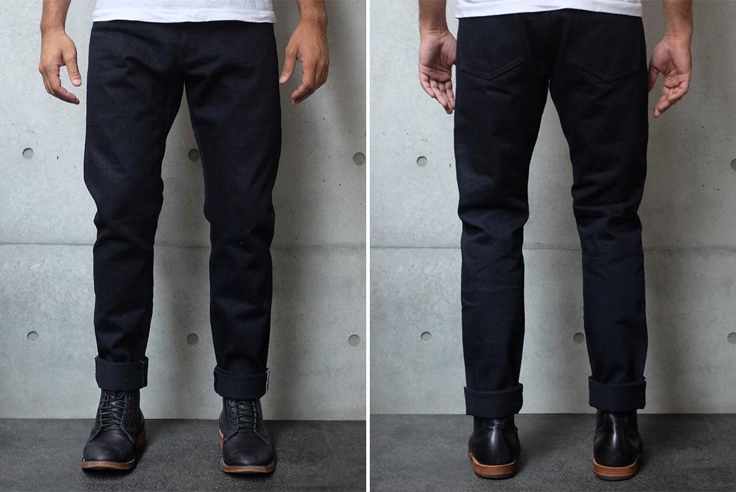 Indigo-Black-Selvedge-Jeans---Five-Plus-One-5)-Studio-d'Artisan-18Oz.-Panther
