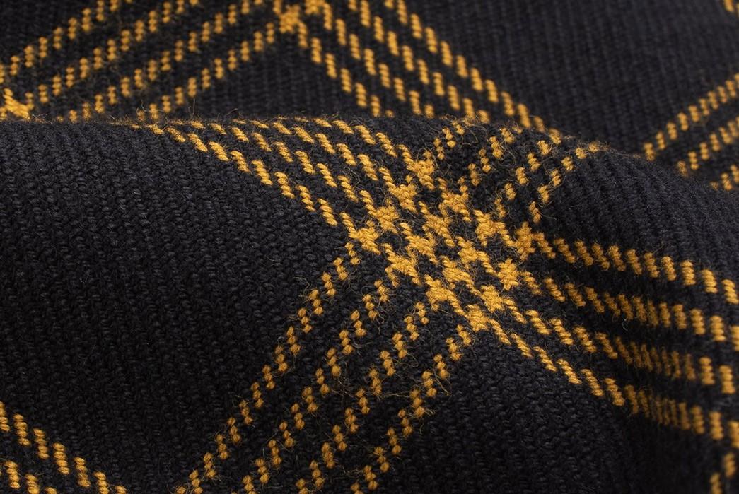 Iron-Heart-Weaves-a-Check-Western-Shirt-From-Peruvian-Aspero-Cotton-detailed