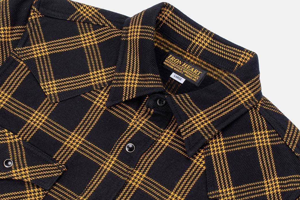 Iron-Heart-Weaves-a-Check-Western-Shirt-From-Peruvian-Aspero-Cotton