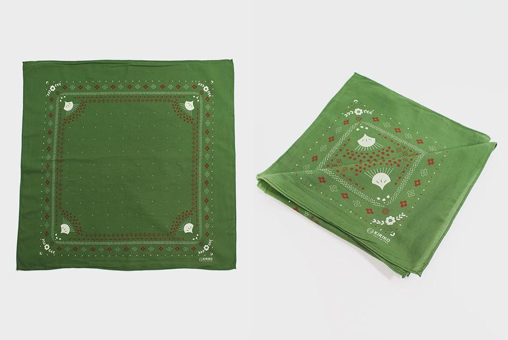 Kiriko-Comes-Through-With-a-Plethora-Of-Two-Tone-Custom-Dyed-Bandanas-green-light