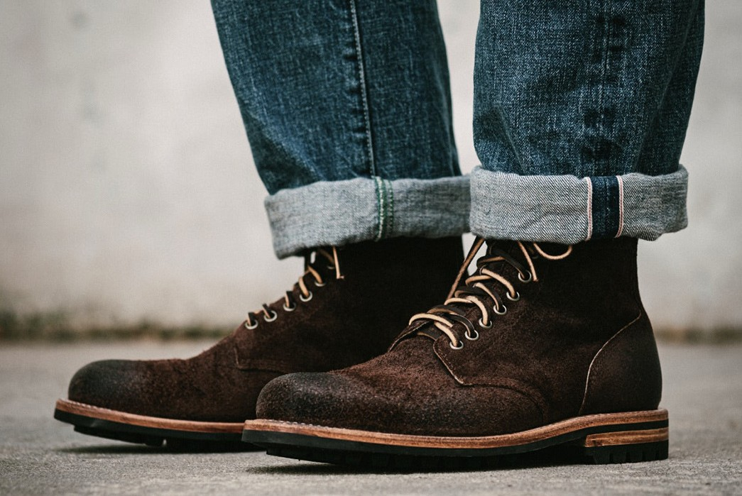 Oak-Street-Bootmakers-Crafts-a-Limited-Edition-Field-Boot-From-'Stampede'-Roughout