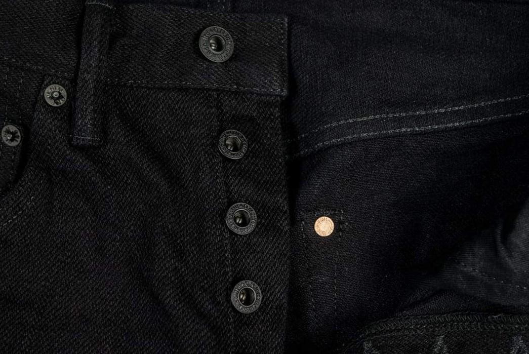 ONI-Marries-Indigo-&-Black-With-Its-679-Aizumi-x-Black-Secret-Denim-Jeans-buttons