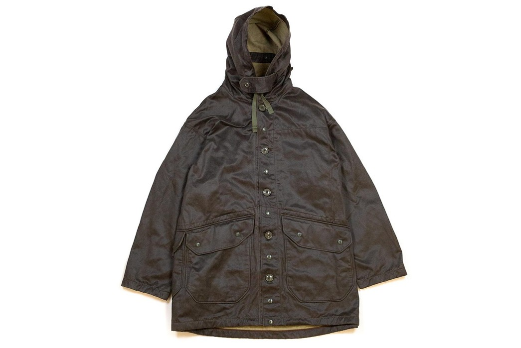 Strap-Into-The-Waxed-Engineered-Garments-Madison-Parka-front