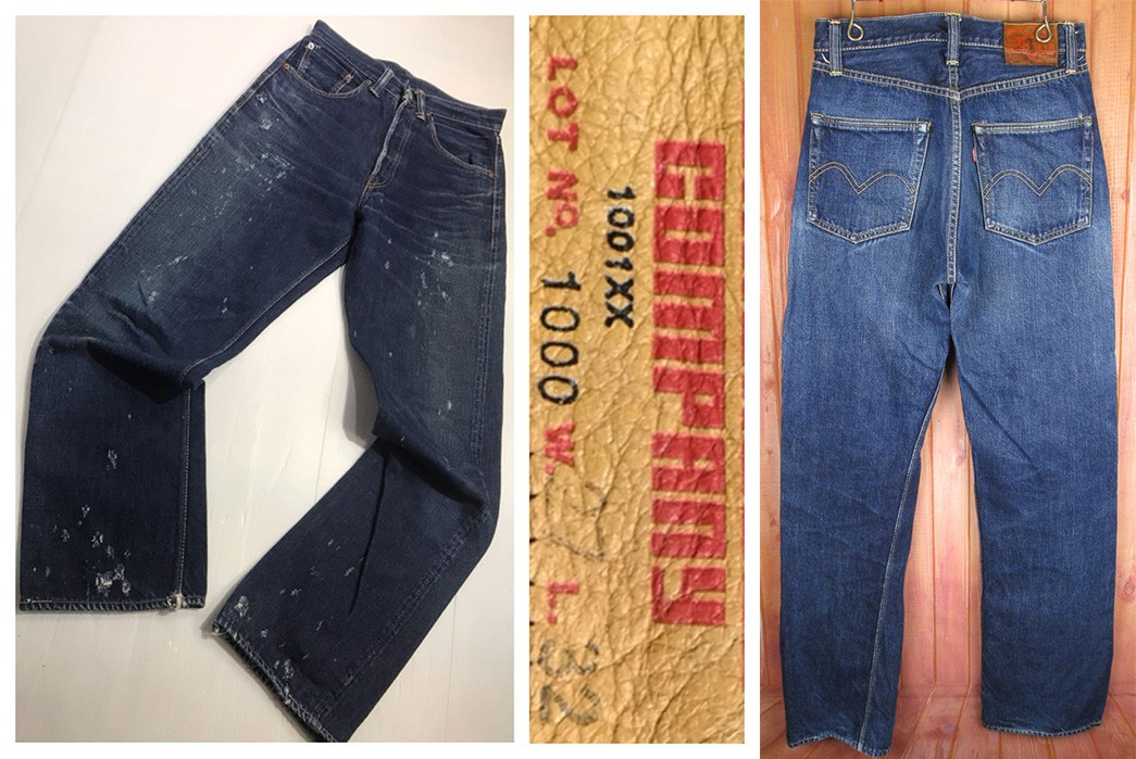 Warehouse-&-Co.---Behind-The-Osaka-Five-Denim-Purists-Older-pairs-of-Warehouse-1001xx-Jeans-via-Yahoo!-Japan-Auctions
