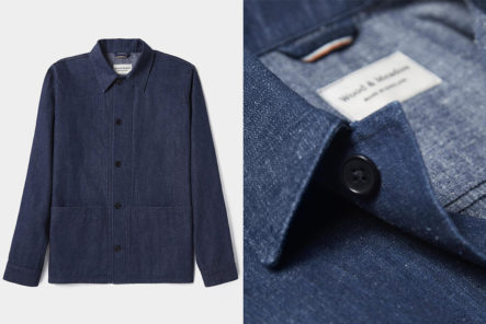 Wood-&-Meadow's-Gardener-Jacket-Is-Made-From-Organic-Sustainable-Selvedge
