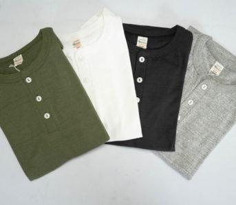 Button-Into-Warehouse-&-Co.'s-'Bamboo-Textured'-Loopwheeled-Henleys
