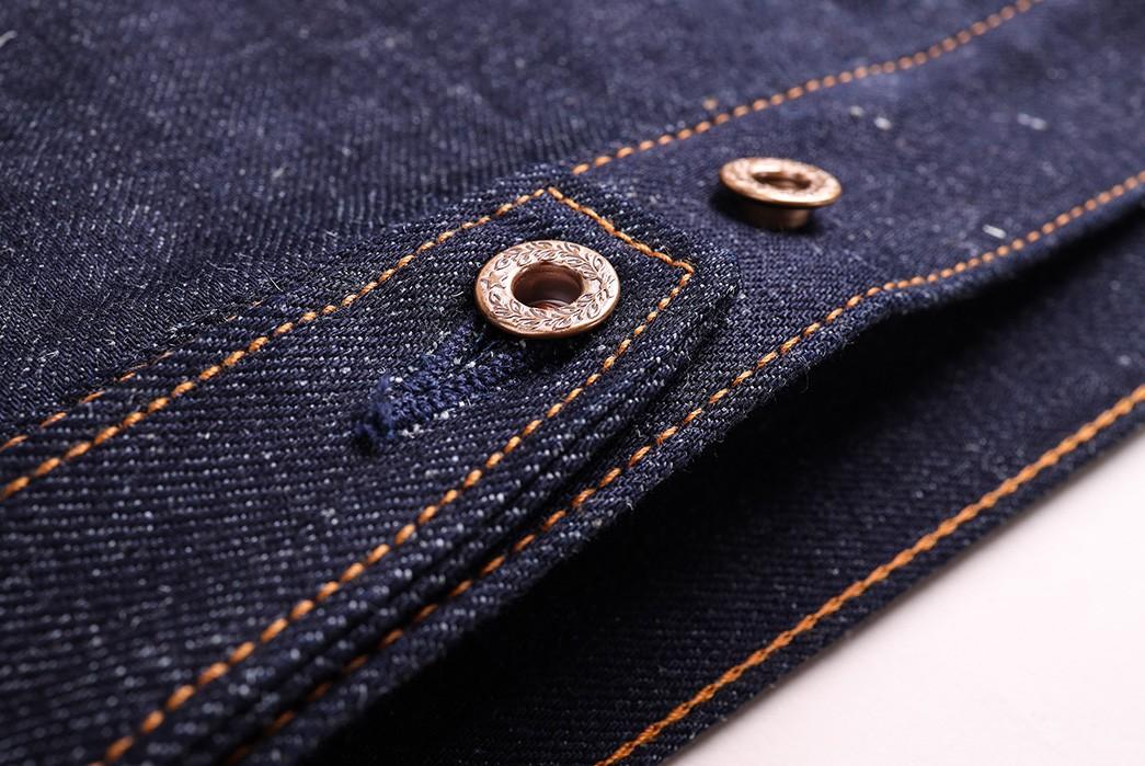 Companion-Sews-Up-Cotton-Hemp-Blend-Italian-Selvedge-Denim-For-Its-Nevada-Jacket-back-down-buttons
