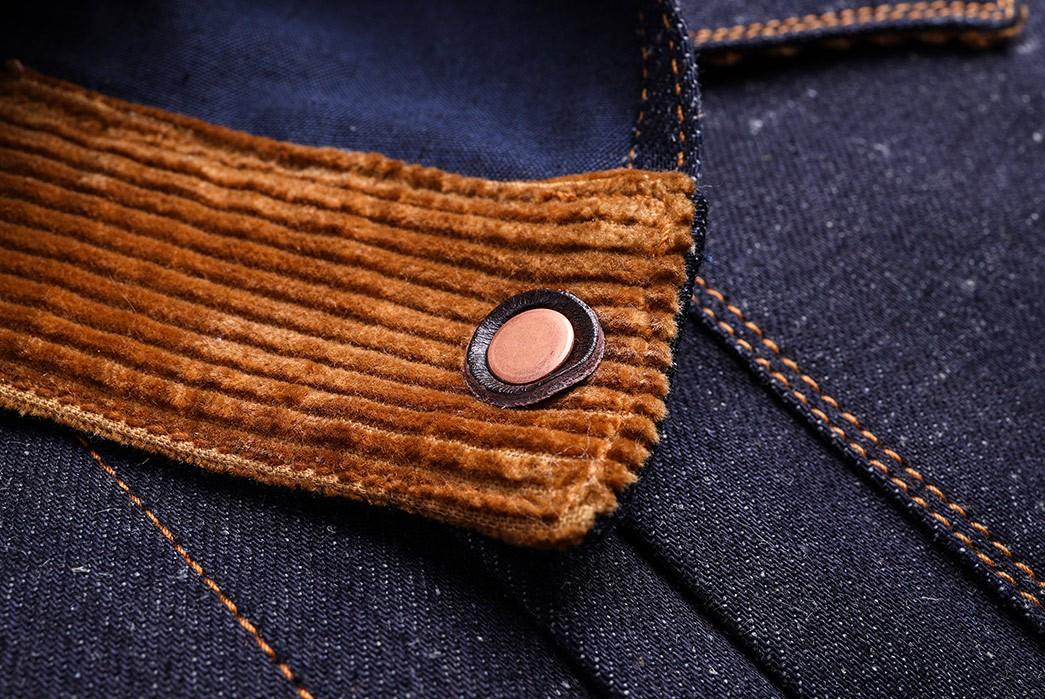 Companion-Sews-Up-Cotton-Hemp-Blend-Italian-Selvedge-Denim-For-Its-Nevada-Jacket-collar-button